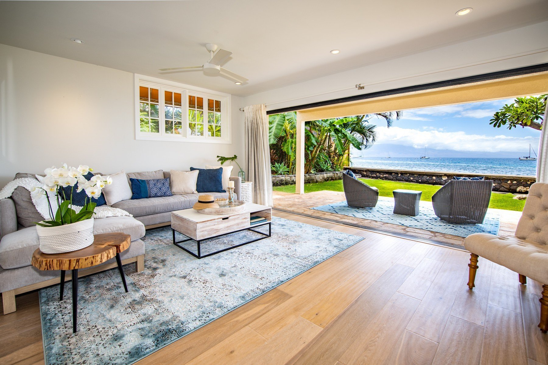 Lahaina oceanfront home for sale