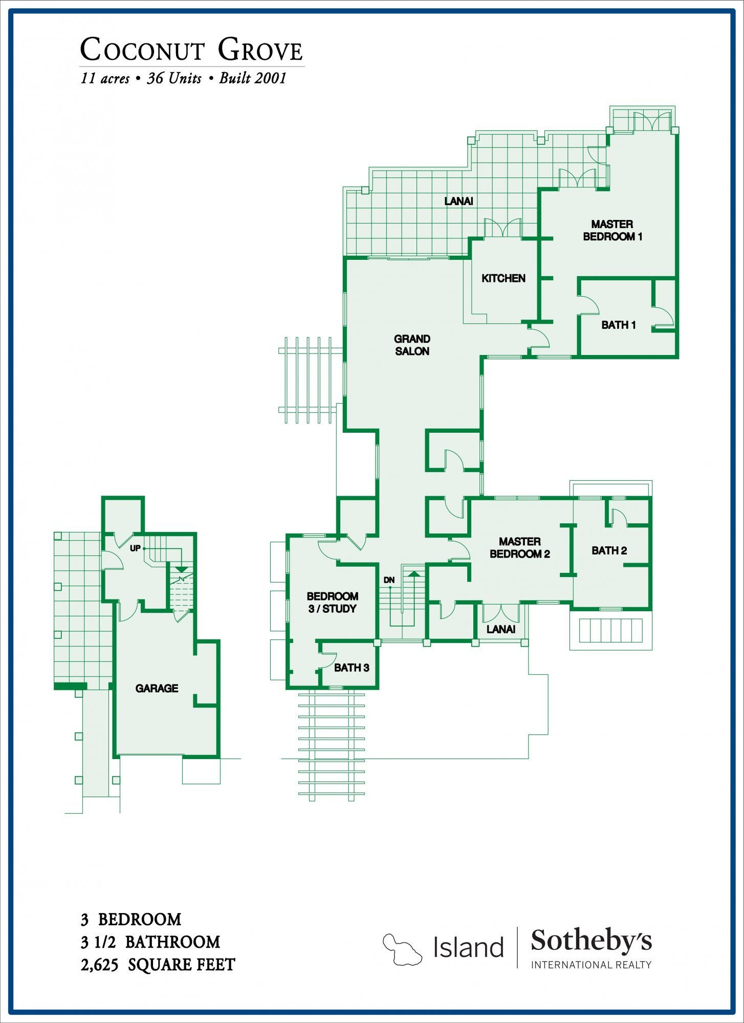 Coconut Grove Floor Plan 3