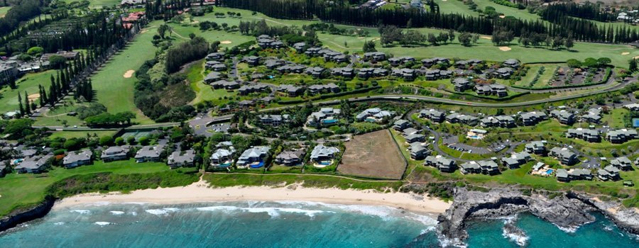 Kapalua Ridge Villas Aerial View