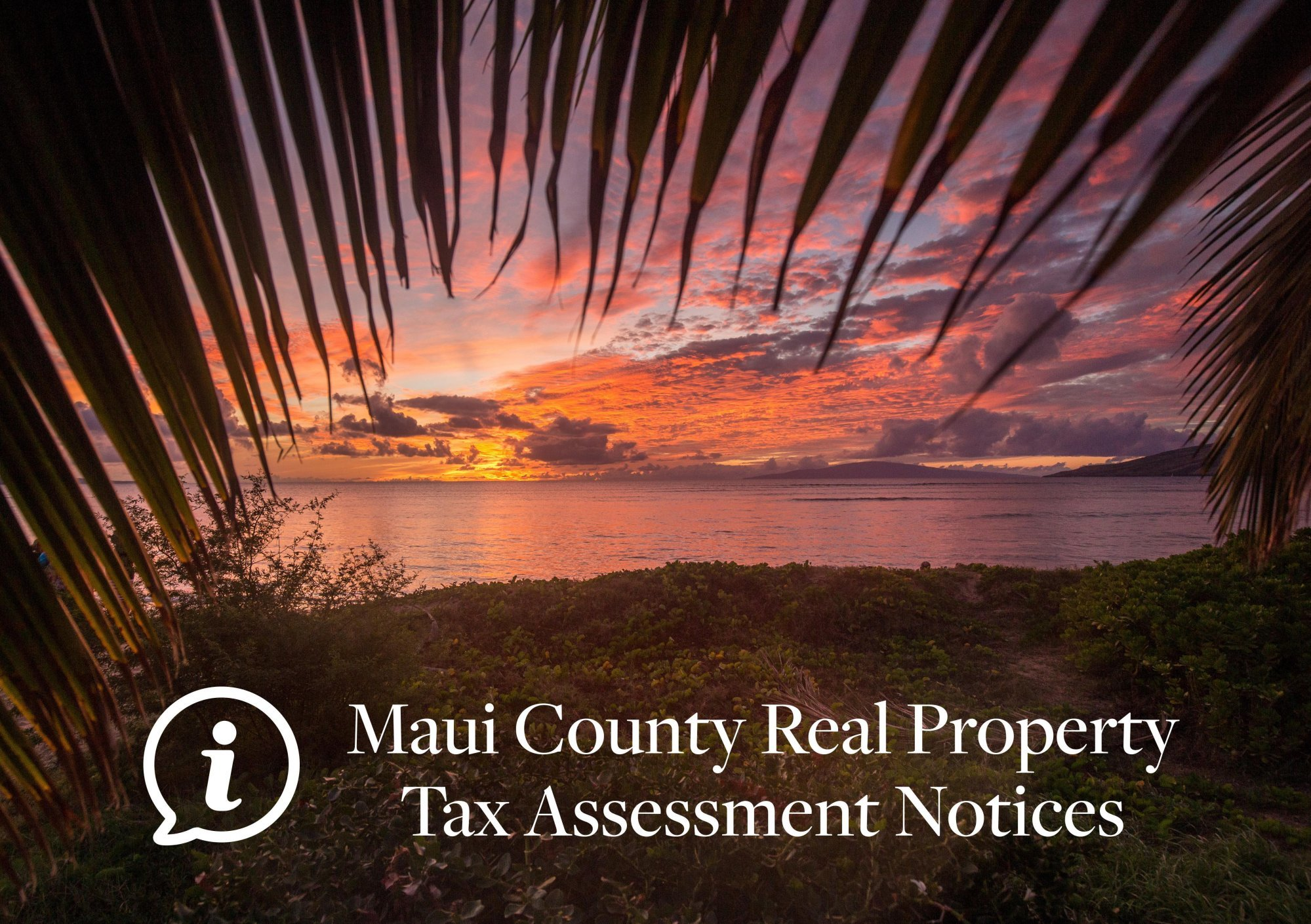 Maui Real Property Tax Assessement Information