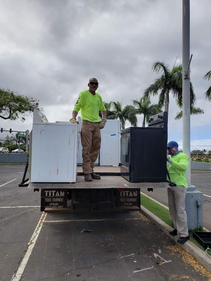 Recycling West Maui Appliances