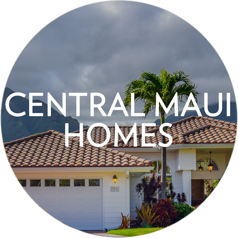 Search Central Maui Homes for Sale