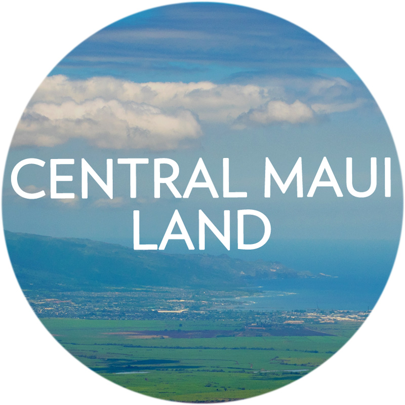 Search Central Maui Land for Sale